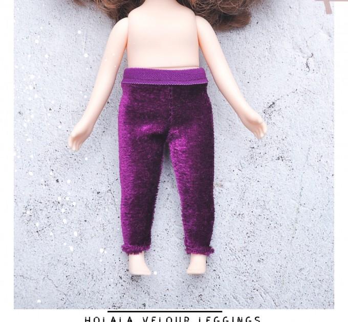Holala purple leggings /holala velour pants / holala clothes
