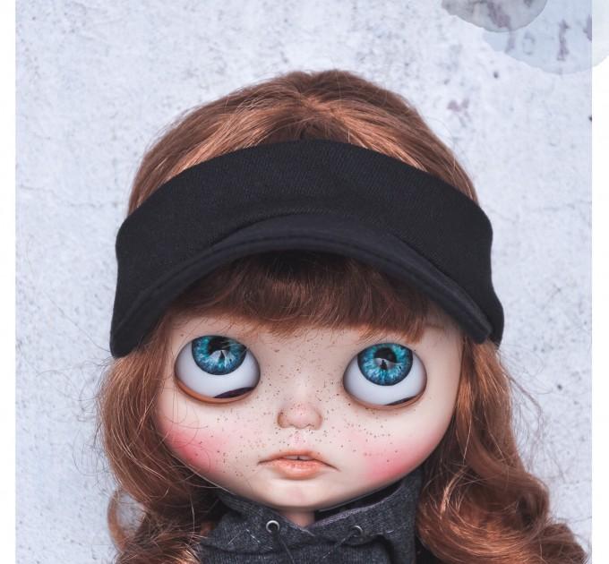 Blythe black cap / doll clothes