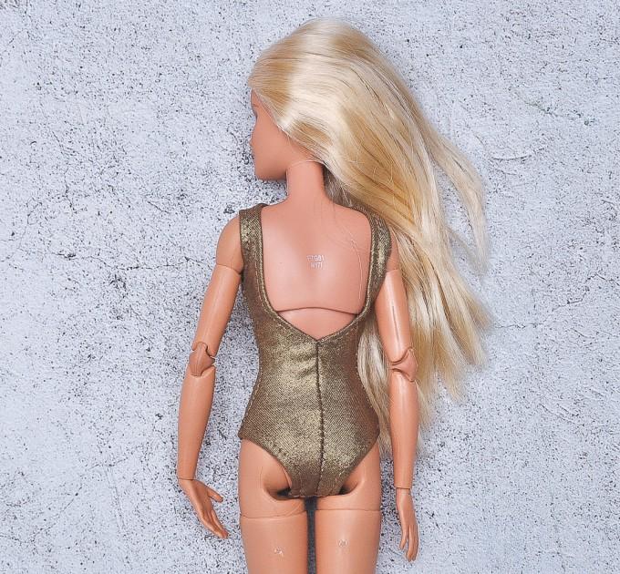 bronze  bodysuit for Barbie doll