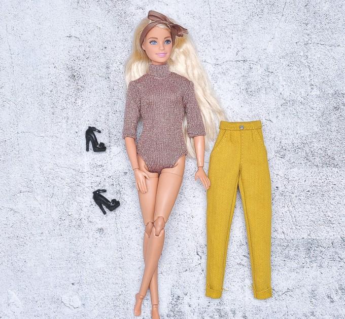 Barbie shiny  bodysuit