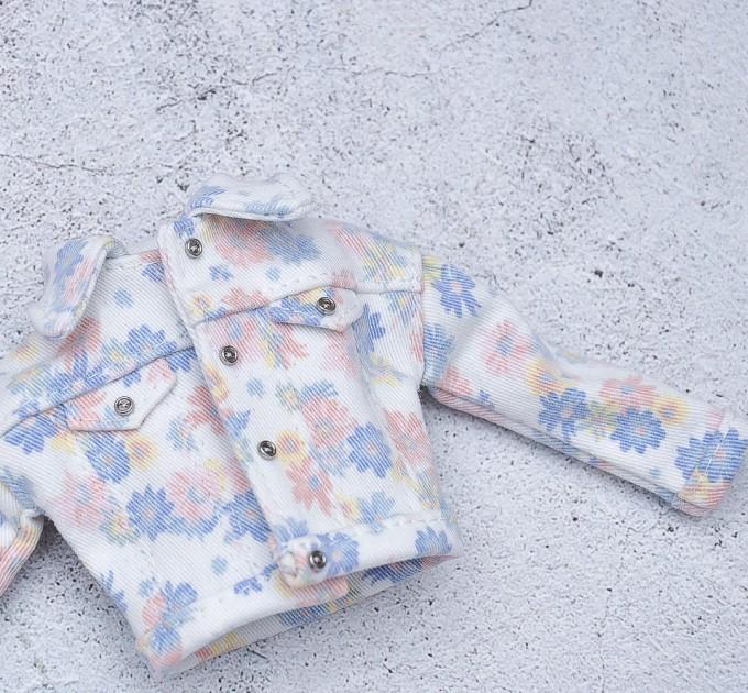 Blythe floral trucker jacket