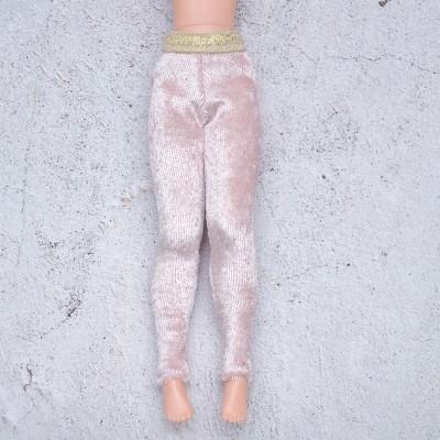 Blythe pink velour  leggings