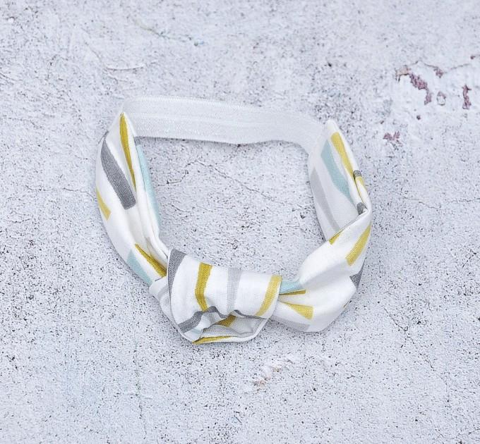 knotted cotton headband