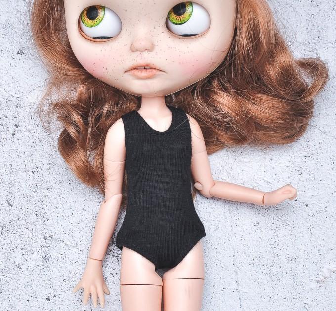 Blythe  black  bodysuit