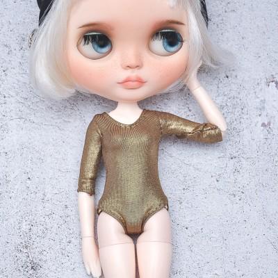 Blythe  bronze sleeve bodysuit