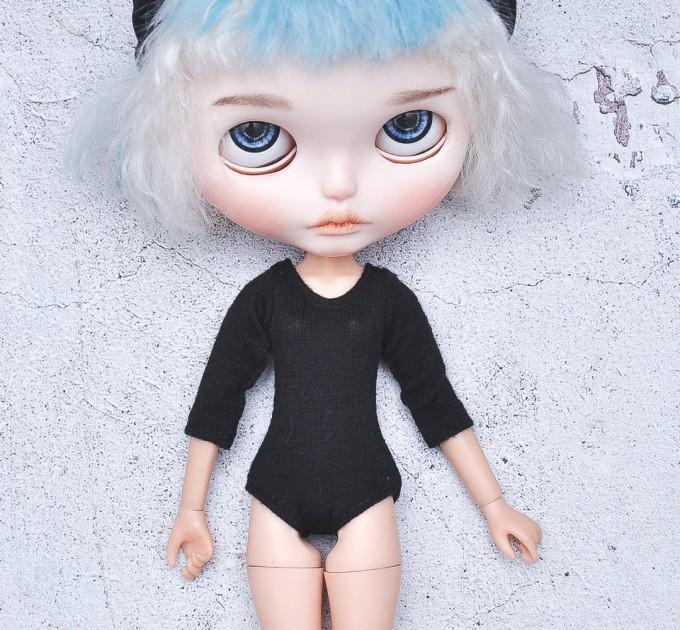 Blythe  black sleeve bodysuit