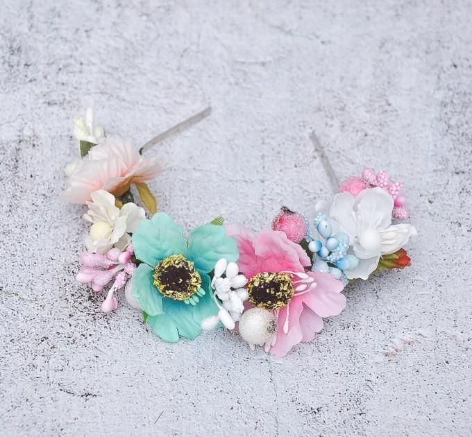 Blythe floral crown