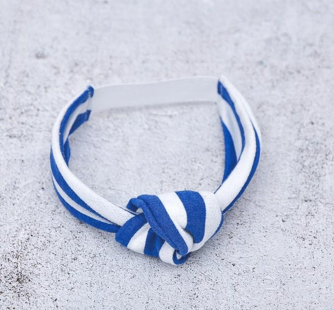 Blythe knotted  jersey  headband