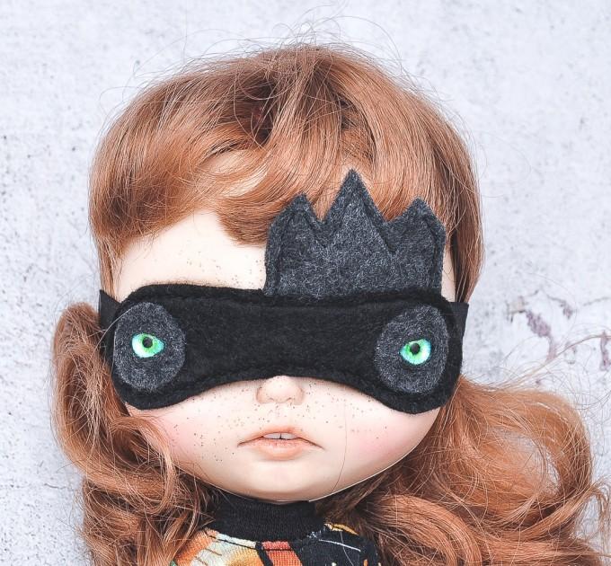 doll sleep mask/ Blythe felt mask