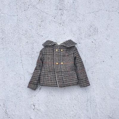 Blythe doll  plaid  jacket