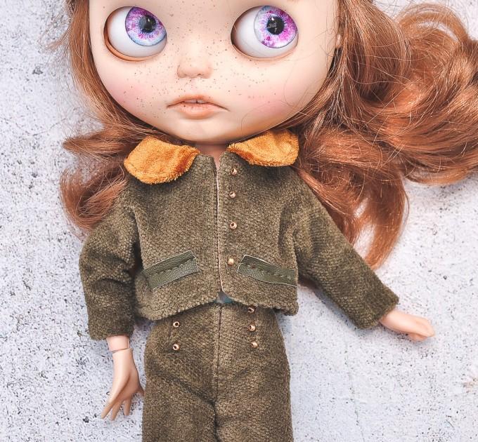 Blythe doll  khaki jacket