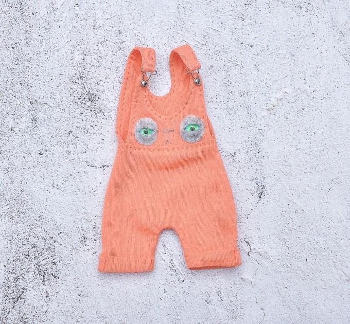 orange overall for Blythe doll