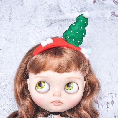 Blythe doll x-mas headband