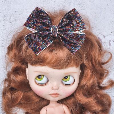 Blythe headband multicolor sparkle bow