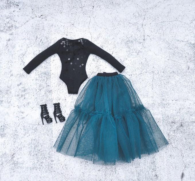 Barbie set of bodysuit and skirt