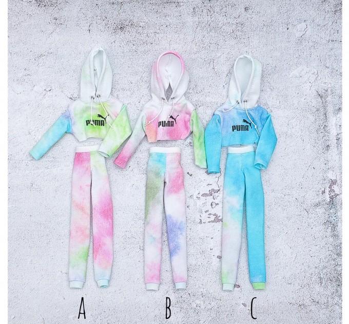 Barbie tie dye tracksuit
