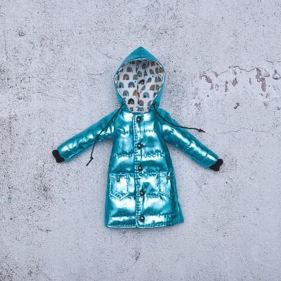 Blythe blue winter coat