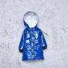Royal blue winter coat for Blythe doll