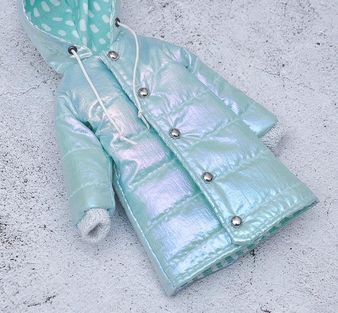 blythe pearl blue coat