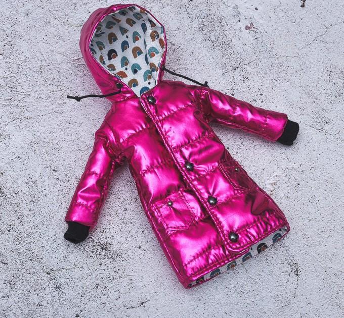 crimson coat for Blythe , Azone, Pullip doll