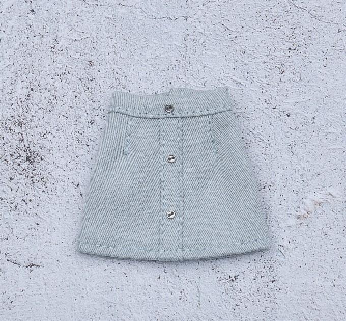 Blythe doll denim skirt
