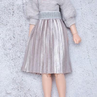 Blythe pleated skirt