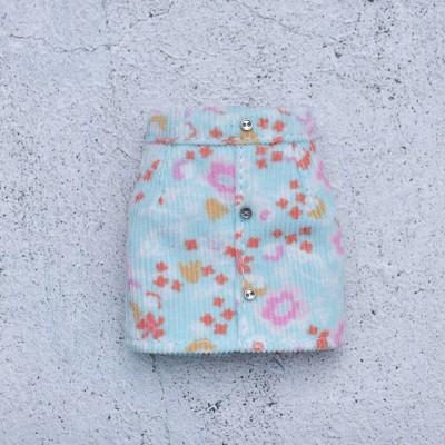 Blythe printed velour skirt /doll clothes