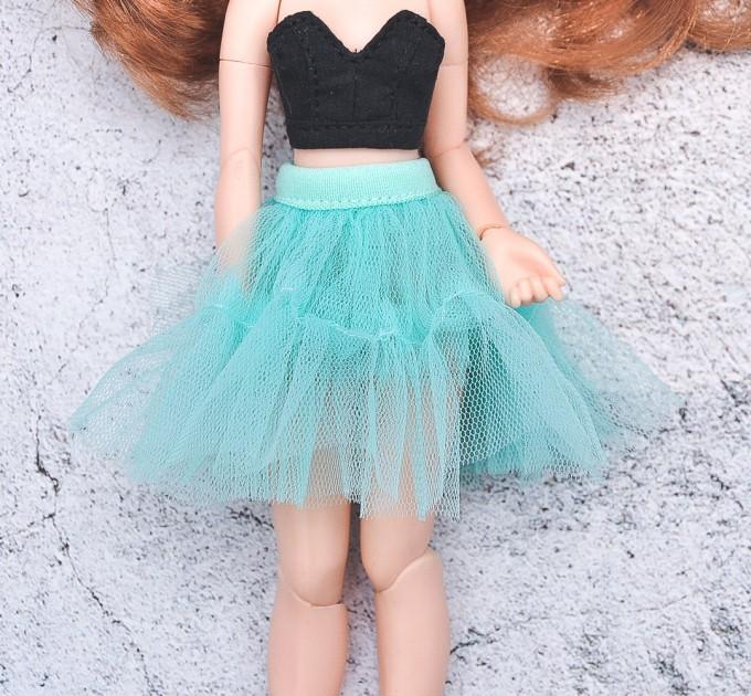 tutu mint skirt for Blythe, Pullip doll