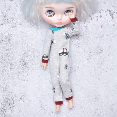 Blythe  pajama  /Azone doll clothes