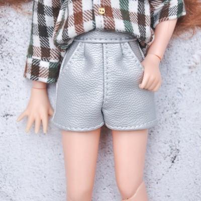 blythe silver shorts