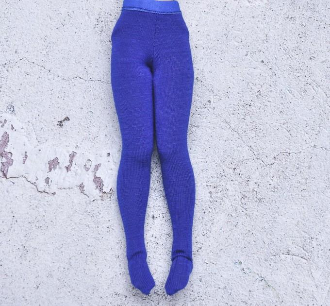 Blythe doll  royal blue tights