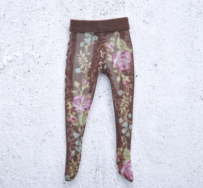 Holala printed tulle tights / holala clothes