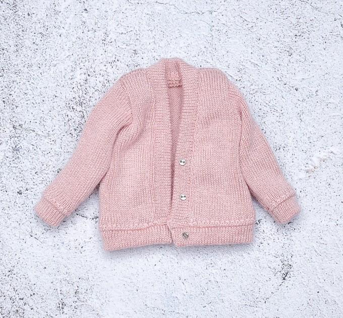 Blythe doll pink cardigan