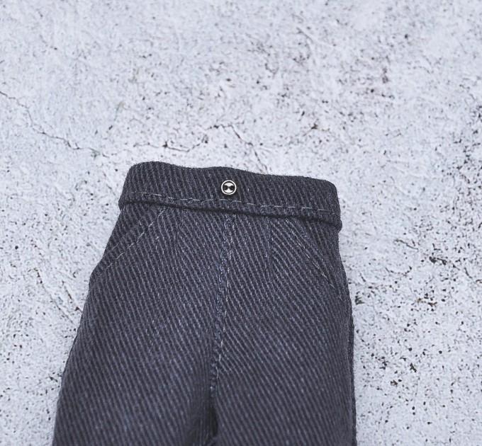 gray Blythe ripped jeans